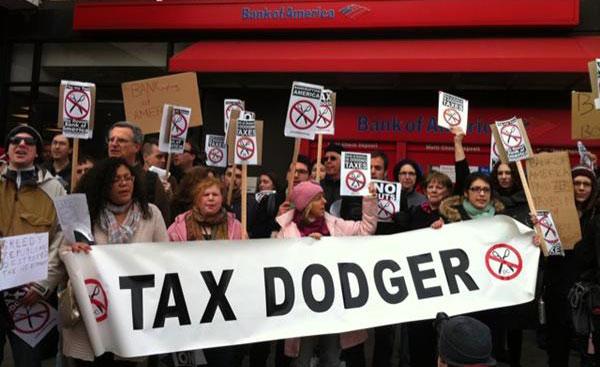 Tax Dodging America