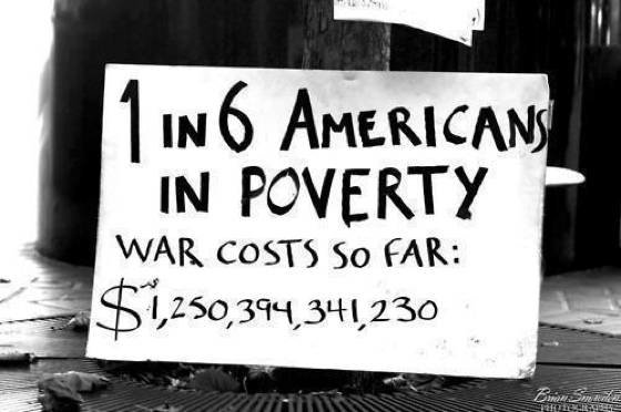 War Poverty Costs
