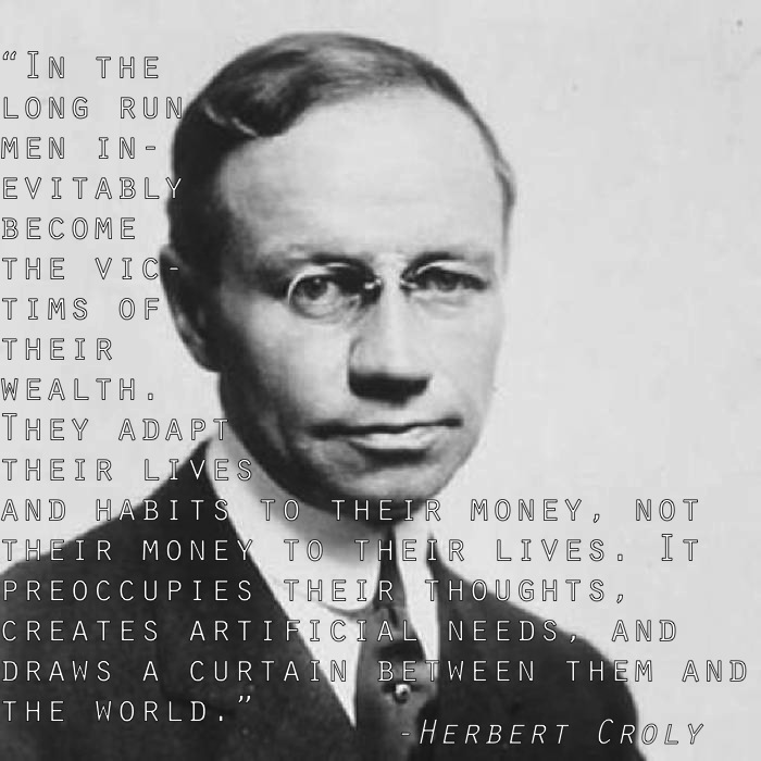 Inequality Quotes Herbert Croly