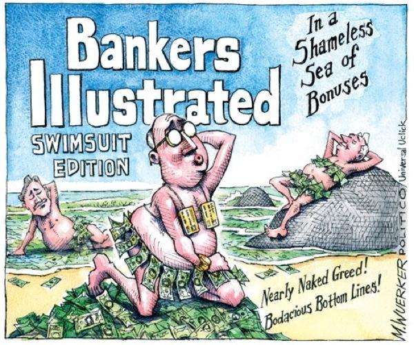 Matt Wuerker Bankers