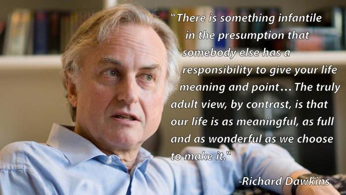 Existentialist Quotes Dawkins