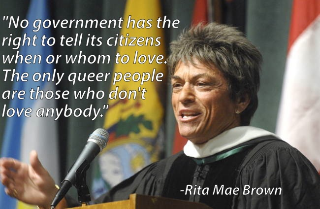 Gay Marriage Rita Mae Brown