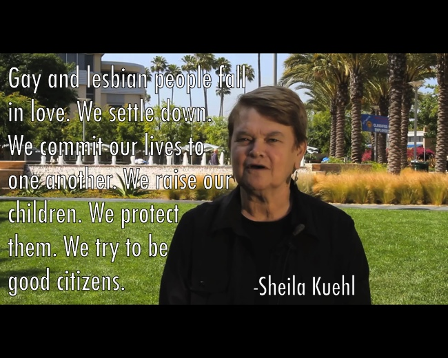 Gay Marriage Sheila Kuehl