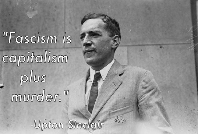 Upton Sinclair Capitalism