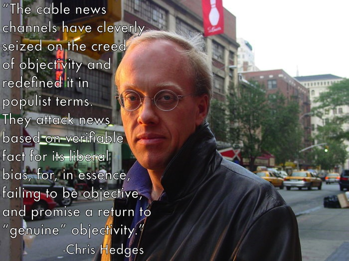 empire of illusion by chris hedges Chris hedges is married to the canadian actress eunice wong  2009 : empire of illusion: the end of literacy and the triumph of spectacle (isbn.