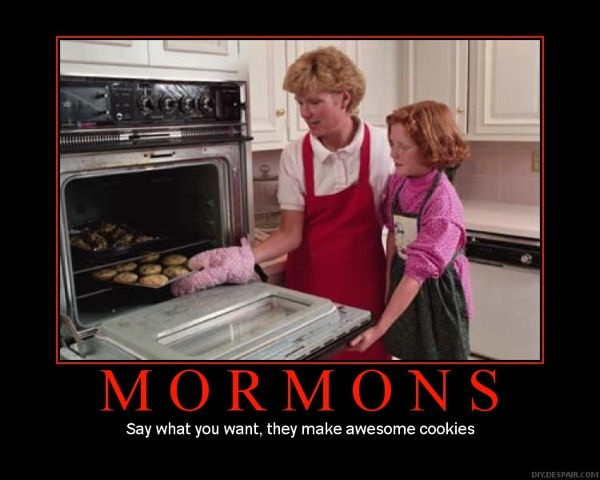 Mormons Cookies