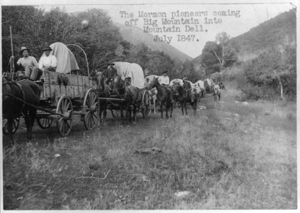 Mormons Pioneers