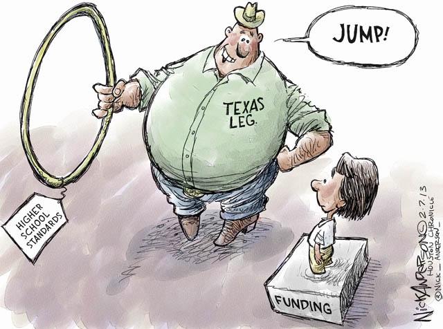 Nick Anderson Texas Education