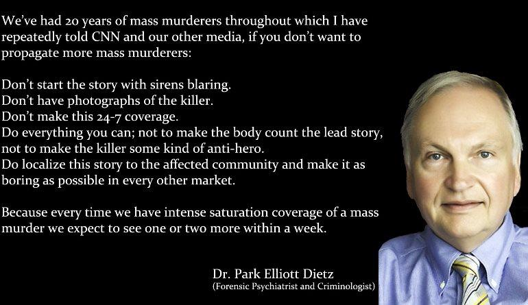 Park Dietz Media And Mass Murders