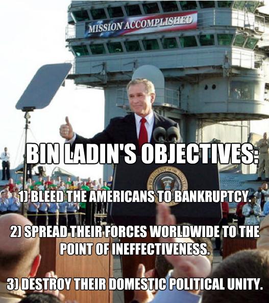 Bin Laden Objectives