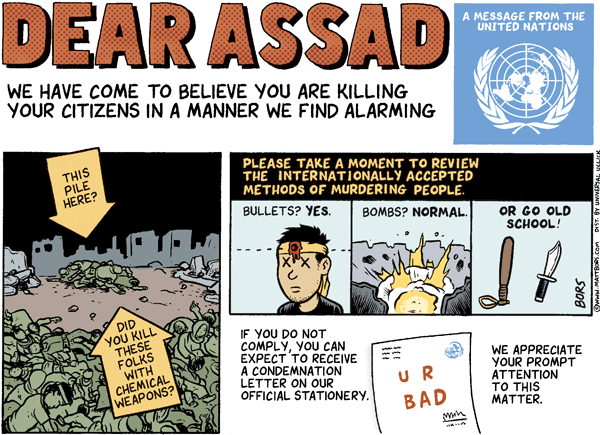 Dear Assad Letter