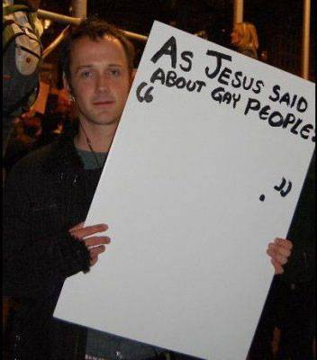 Jesus Gay People Photo