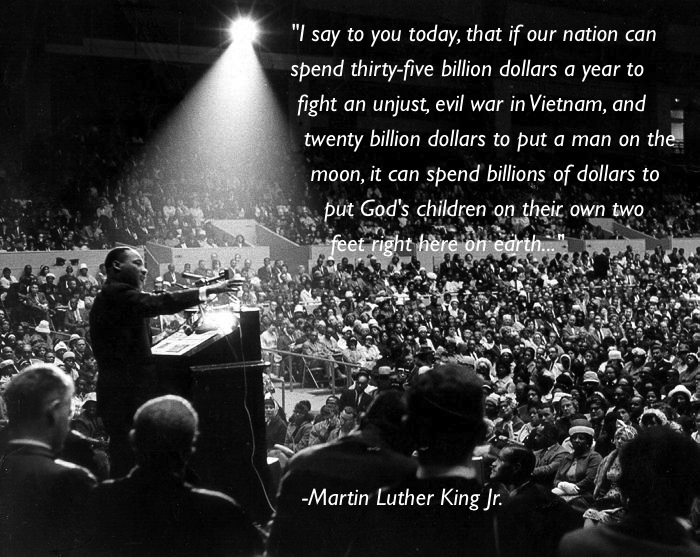 Martin Luther King Quote On Spending