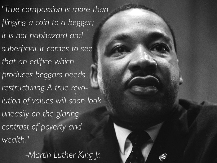 MLK Quote On True Compassion