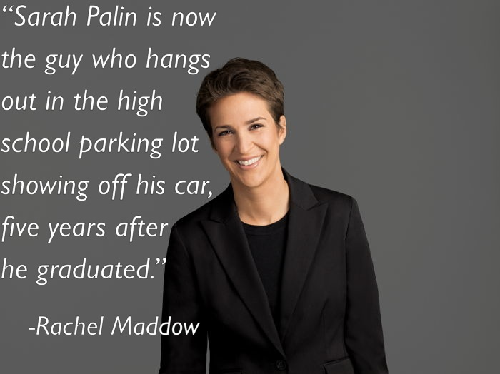 rachel maddow 1 Ten Of Rachel Maddows Best Moments