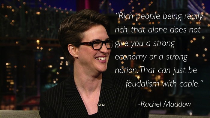 rachel maddow 4 Ten Of Rachel Maddows Best Moments