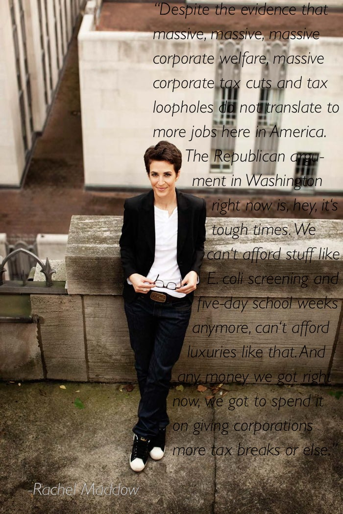 rachel maddow 7 Ten Of Rachel Maddows Best Moments