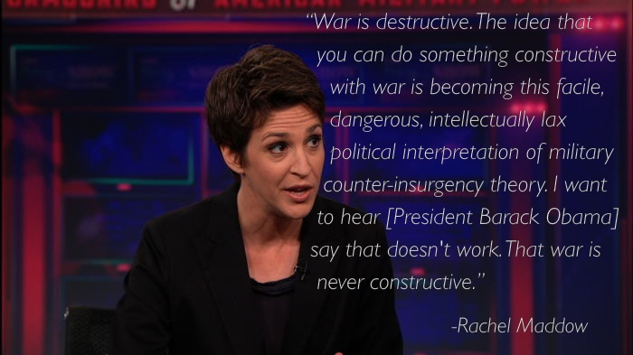 rachel maddow 9 Ten Of Rachel Maddows Best Moments