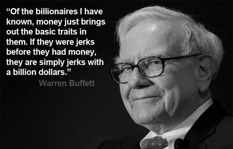 Warren Buffett Billionaire Quote