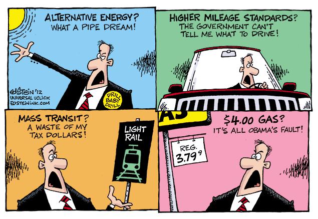 Alternative Energy Comic