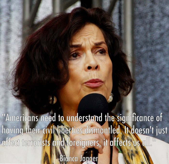 Civil Liberties Bianca Jagger