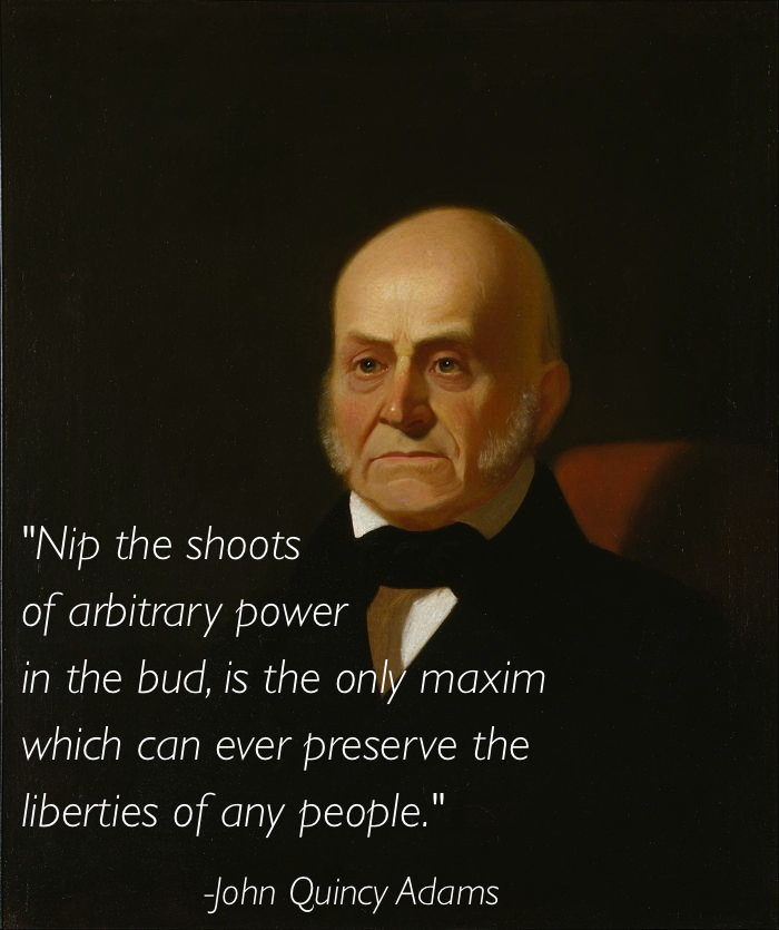 Civil Liberties John Quincy Adams