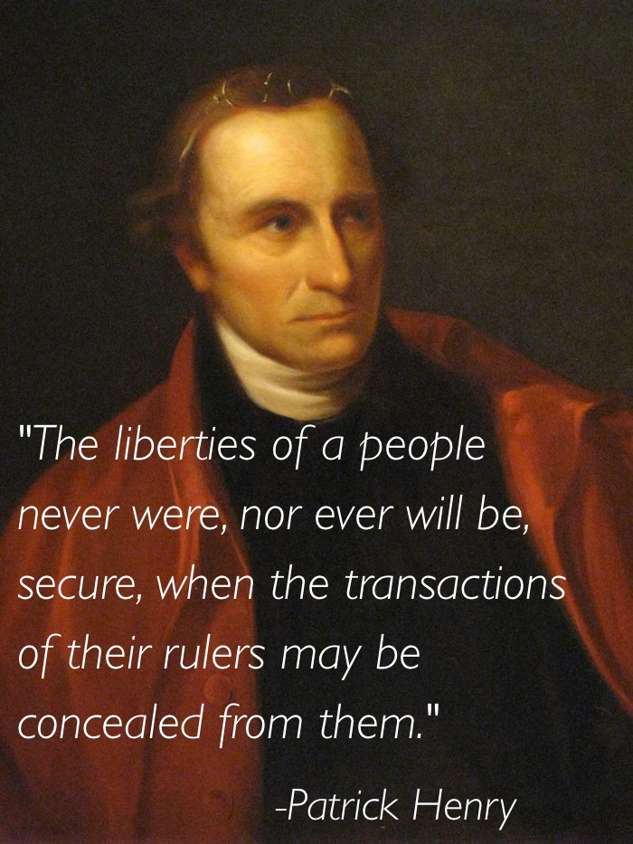 Civil Liberties Patrick Henry