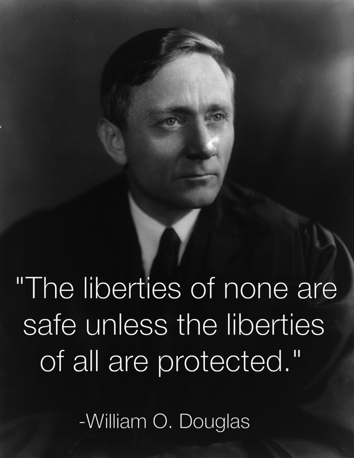 Civil Liberties William O Douglas