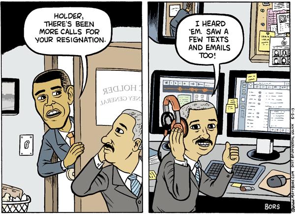 Eric Holder Resignation