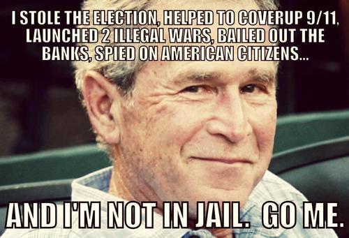 George Bush Go Me