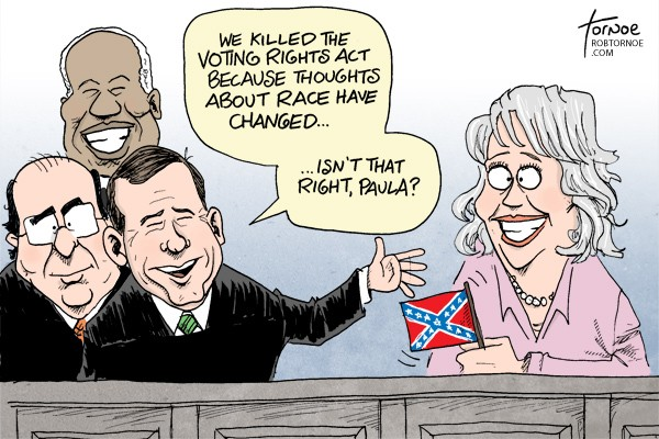 Paula Deen Voting Rights