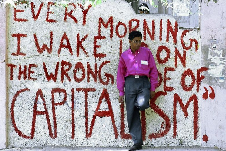 Wake Up On Wrong Side Of Capitalism