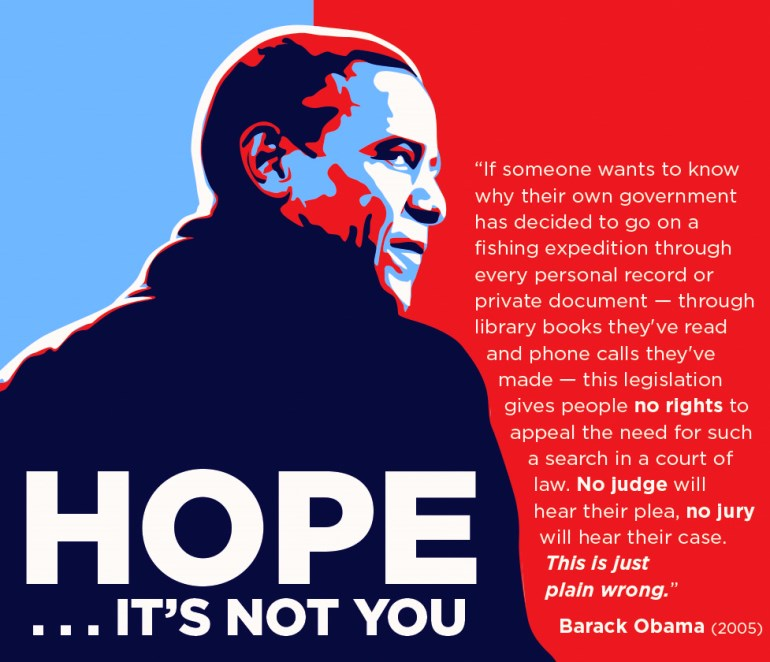 Barack Obama Quote On Surveillance 2005