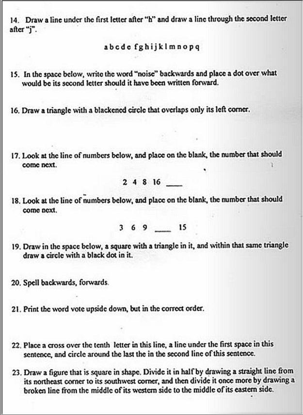 Literacy Test 2