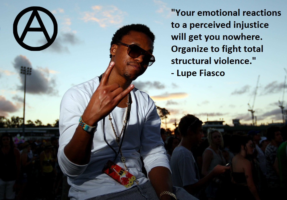 Lupe Fiasco Race Riots