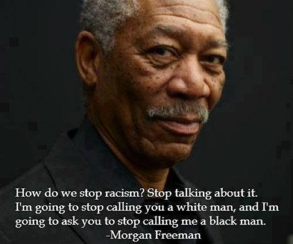 Morgan Freeman Racism