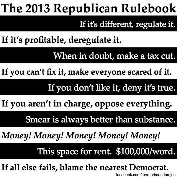 Republican Rule Book