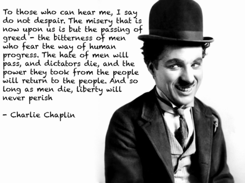 Charlie Chaplin Liberty