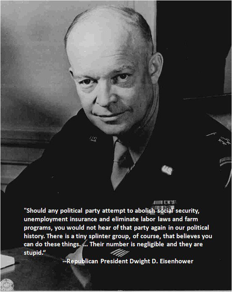 Eisenhower Abolishing Welfare