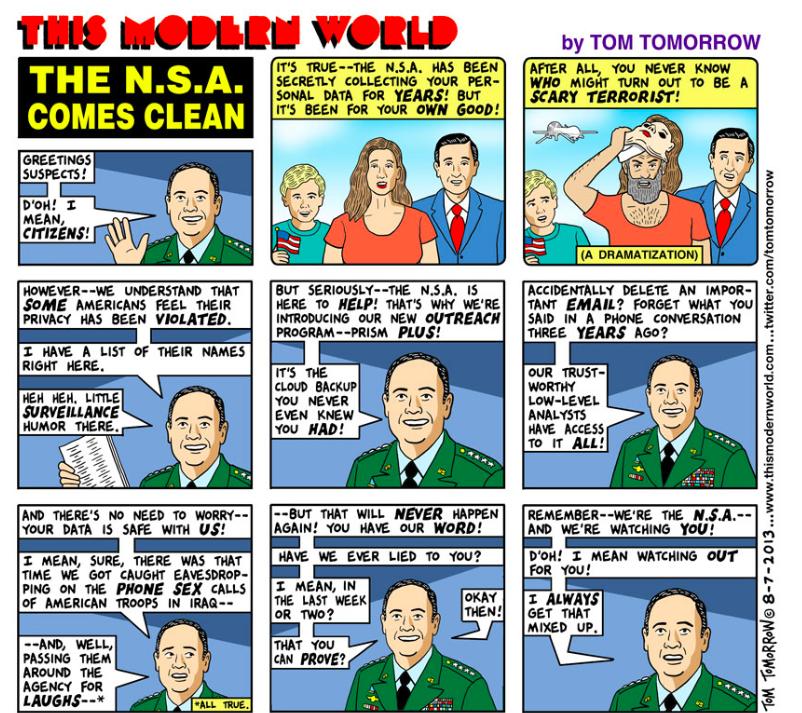 NSA Comes Clean