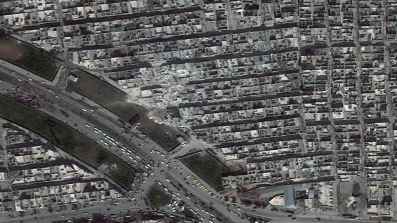 Shocking Satellite Photos Of Destruction In Syria