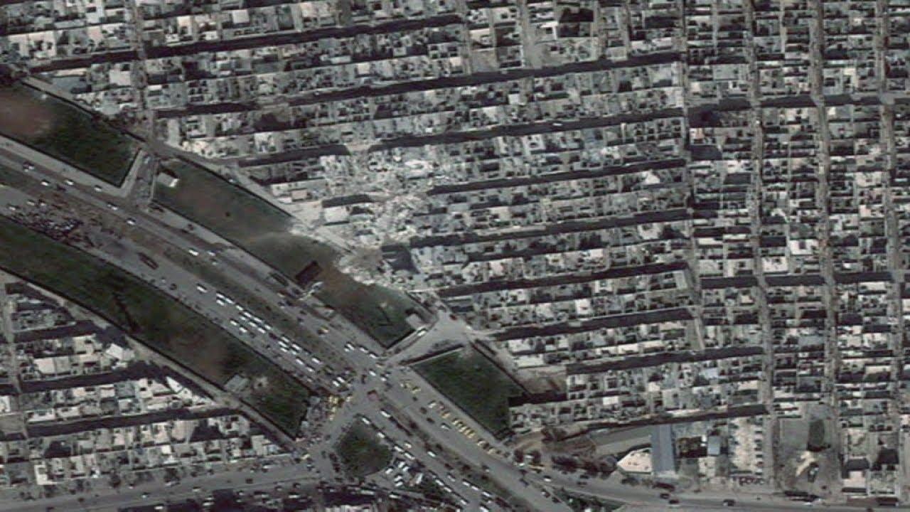 Shocking Satellite Photos Of Destruction In Syria