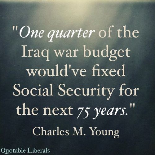 Social Security Iraq War