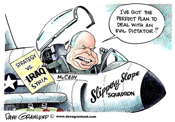 Syria McCain