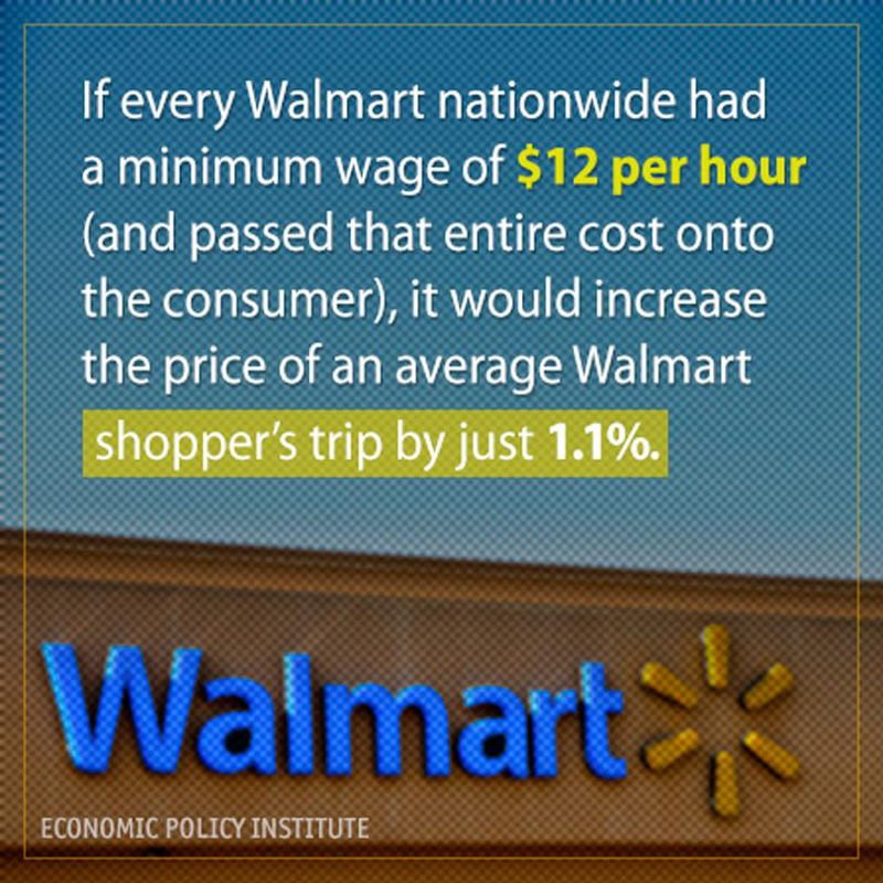 Walmart Minimum Wage
