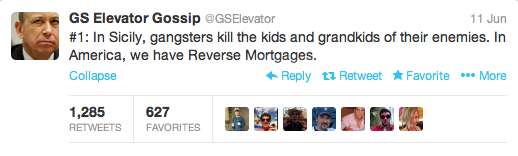 GS Elevator Gossip Mortgages