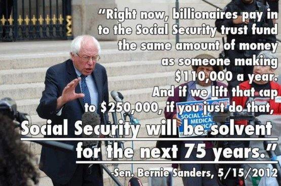 Bernie Sanders Social Security