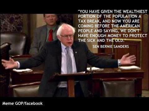 Bernie Sanders Tax Breaks