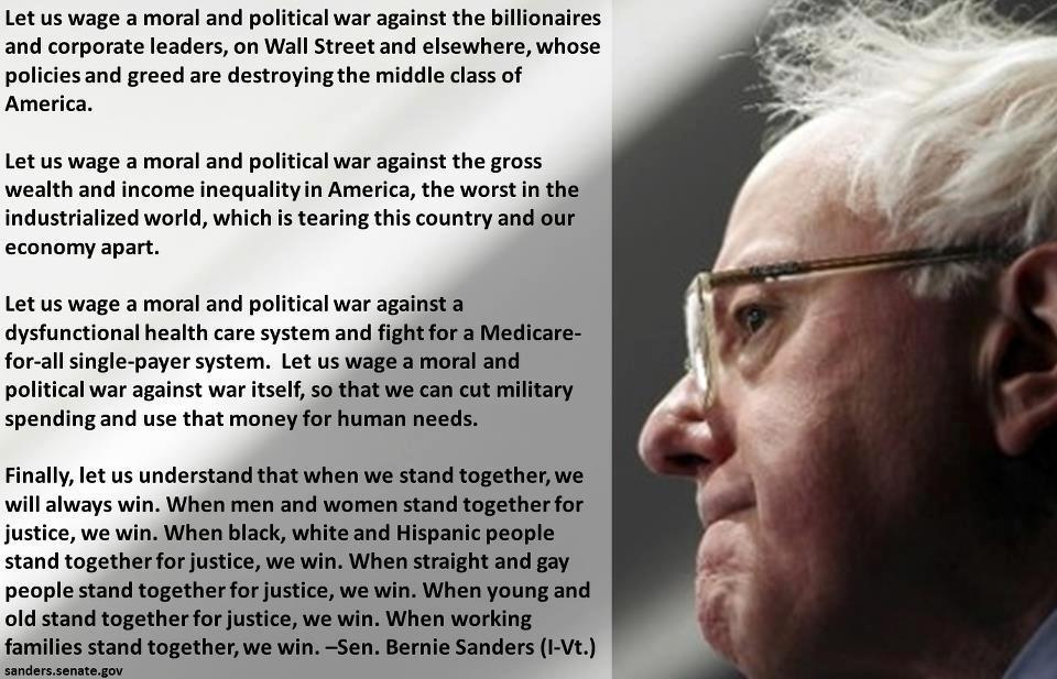 Bernie Sanders War