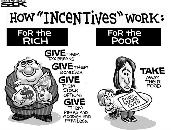 Incentives Give And Take